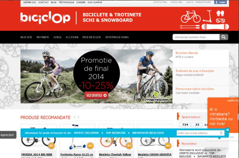 Biciclop Magento store