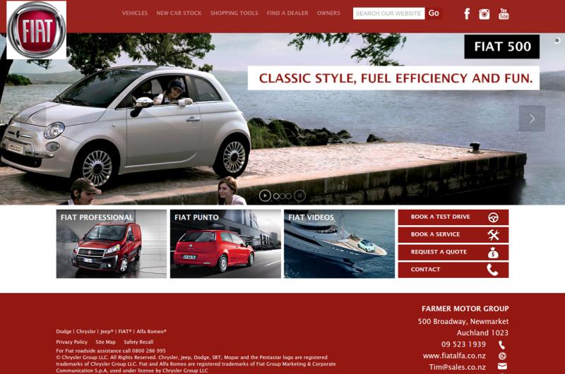 Fiat and Alfa Dealers