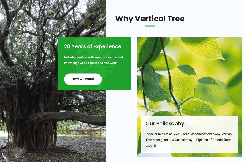 Tree Management website